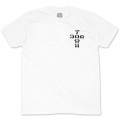 Dogtown T-Shirt Cross Logo WHITE