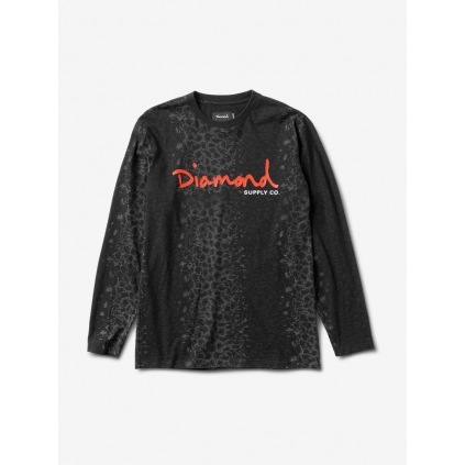CHEETAH CANVAS L/S TEE